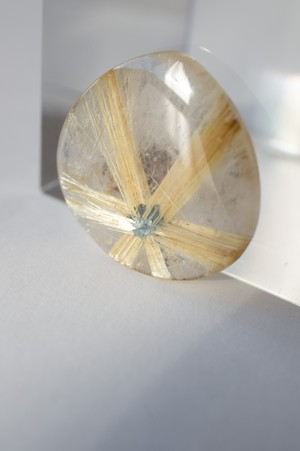 Starburst Rutilated Quartz - MSR012