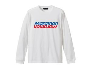 LONG SLEEVE T-SHIRT M319203-WHITE / ロンT ホワイト WHITE / MARATHON JACKSON マラソン ジャクソン