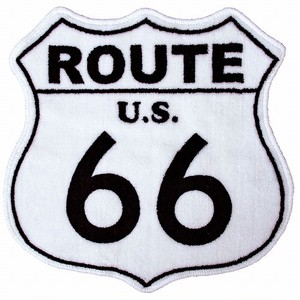 AMERICAN FLOOR MAT (ROUTE66 : WH)