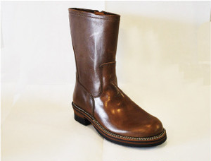 【High Line】NEW ENGINEER BOOTS NEW TIPE DK.BROWN GR-KE318N