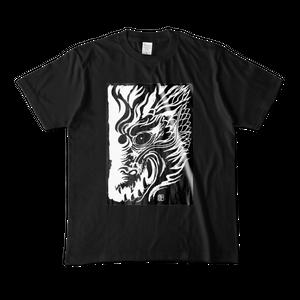 Tシャツ「黒の龍眼」