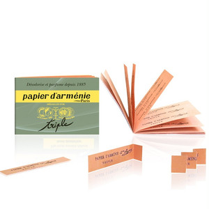 【JM27】 空気を浄化する紙お香♪(papier darmenie)
