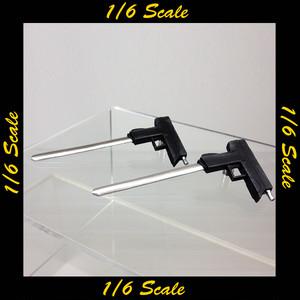 【01739】 1/6 Very Cool ブレードサブマシンガン 2挺セット