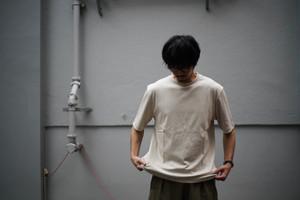LAMOND / SUVIN COTTON 5部袖 T-Shirt
