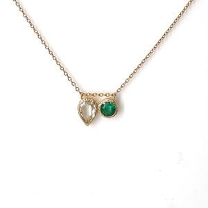 Mystic 2 Stones Necklace