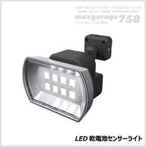 4.5W ワイド フリーアーム式 LED乾電池センサーライト(LED-150)RITEX