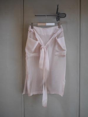 FUMIE = TANAKA / through apron(BEIGE)