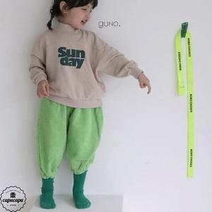 «sold out» guno coduroy pants 3colors コーデュロイジョガーパンツ