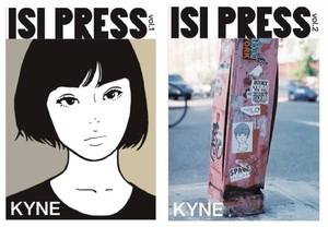 [限定]ステッカー付 ISI PRESS vol.1/vol.2 セット