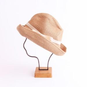 mature ha./BOXED HAT 101 mixbrown×ecru