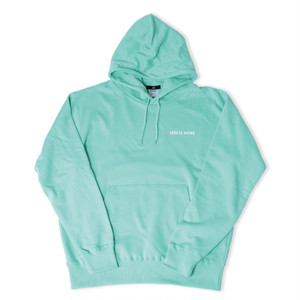 LESS IS MORE Hoodie -Robin Egg Blue-