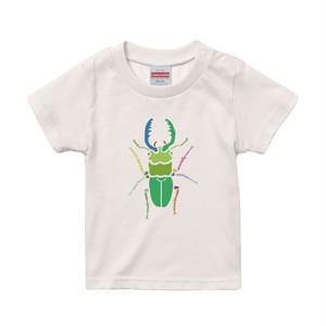 【キッズ】クワガタ  プリントTシャツ