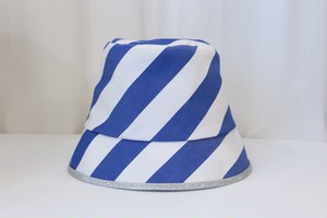 "MIND THE HAT ""Stripe hat""(blue)"