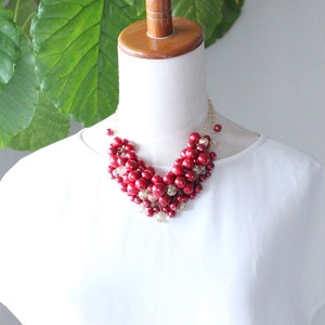 ~艶~3way necklace(Red)