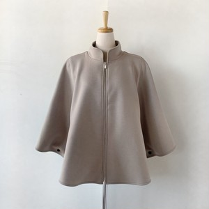 最後の一枚!Double Standard Clothing×akko3839 ジップアップドレープポンチョ 0508-420-203