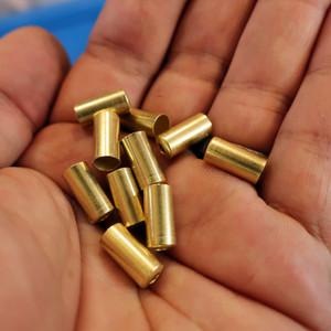 真鍮製アウターキャップ ブレーキ用 (10個)