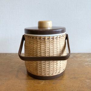 藤編みアイスペール