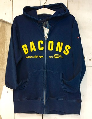 BACONS DENIM ZIP PARKA