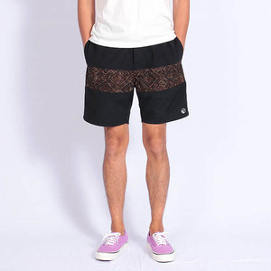 Short pants every day CENTER LINE BATIK Black/Brown