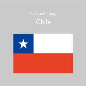 国旗ステッカー チリ
