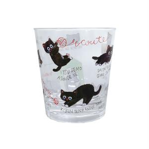 猫タンブラー(エクートミネットキャット)ブラックキャット