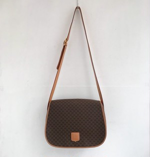 CELINE macadam shoulder  bag