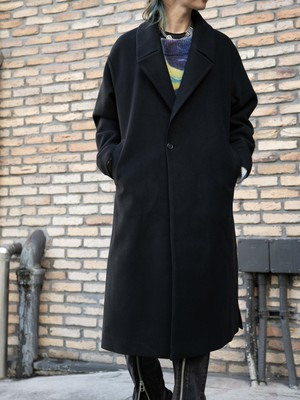 【MENS - 1 size】CHESTERFIELD COAT / 2colors