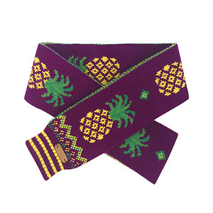 Wool Scarf - Pineapple