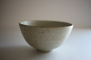 小林耶摩人(恵山)|ボウルSS(4寸) 粉引