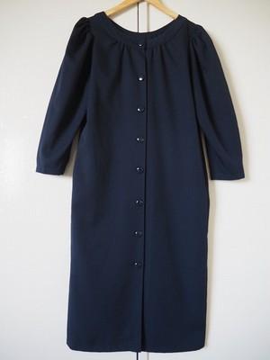 【フランス】 ウール羽織ロングワンピース