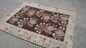Persian vintage Wool handmade Kilim B20200221