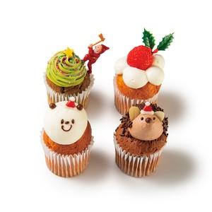 【クリスマス予約販売】店頭受取:Fairycake Fair クリスマスBOX [4個入り]