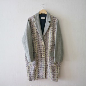 LOOP TWEED コート