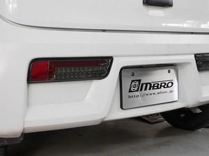 HA36S HA36V アルト MBRO サンダーLEDテール フルLED スモーク/レッドチューブ 左右セット【新品】コーリンプロジェクト 44108
