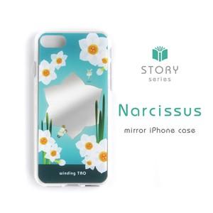 〈物語シリーズ〉ナルキッソスの水鏡iPhoneケース[iPhone7/8/X/XS](販売終了)
