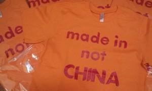 中国製じゃないよーTシャツ
