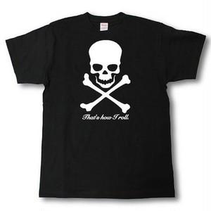 デザインTシャツ kick ass #3  黒T