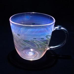 glass 渦マグカップ(insidiout)