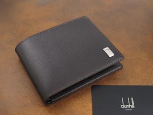 ダンヒル DUNHILL メンズ 二つ折り 短財布 FP3070E サイドカー ダークブラウン
