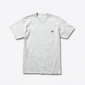 Diamond SUPPLY CO. PATCH TEE ASH HEATHER