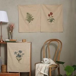 wild flower fabric poster 3colors / 野生花 ファブリックポスター