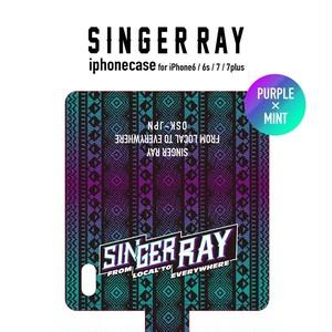 RAY IPHONE CASE 2017 (PURPLE&MINT) iPhone6/6S,7,7plus対象