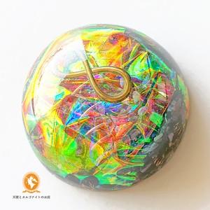 [受注制作]宇宙のハグ グレートセントラルサン オルゴナイト インフィニティ スギライト do1002huggsinf00011