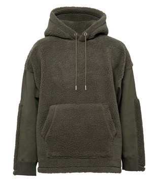 BOA SWITCH SWEAT BIG PULL PARKA[REC237]