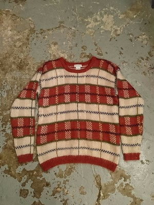 80s New Fdition MOHAIR SWEATER
