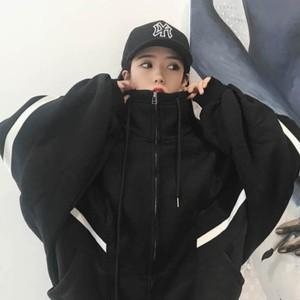 【outer】配色ファッションフード付き合わせやすいジャケット24954721