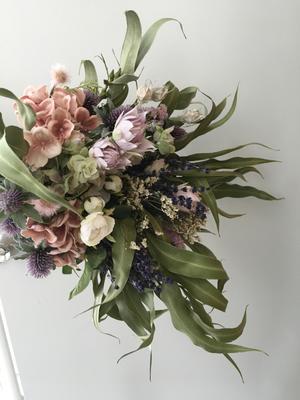wedding bouquet arm type(オーダーメイドブーケ・アームブーケタイプ)