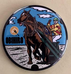 【バッチ】北海道 帯広市 ④ばんえい競馬