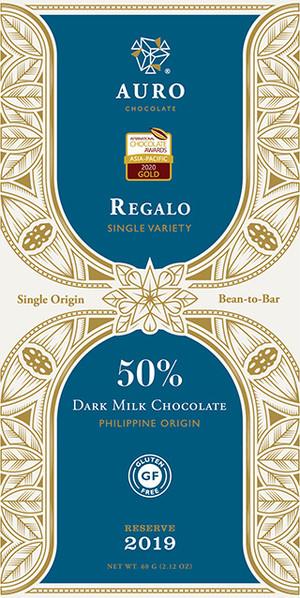 50% DARK MILK CHOCOLATE REGALO