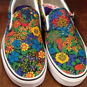 "VANS/ヴァンズ | CLASSIC SLIP-ON / Liberty Art Fabrics ""Floral"""